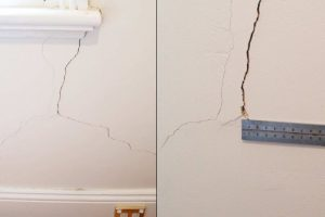 Houses are cracking in the dry, hot weather, but when should you start to worry?